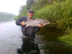 Miramichi River, New Brunswick, Canada - Atlantic Salmon fishing at it's best!!
